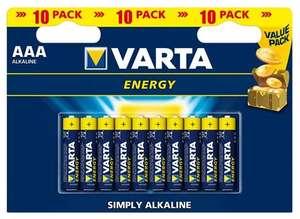 Батарейки Varta Energy 10 шт AAA
