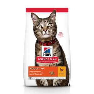 Сухой корм Hill's Science Plan для взрослых кошек с курицей, 15 кг