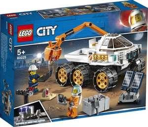 Конструктор LEGO City Space Port 60225 Тест-драйв вездехода