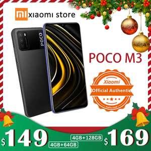 Смартфон Xiaomi POCO M3 4 Гб 128 ГБ черный (внимание, новый магазин без отзывов)