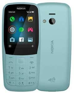Телефон Nokia 220 4G Dual sim бирюзовый