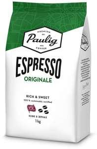 Кофе Paulig Espresso Originale в зернах, 1 кг