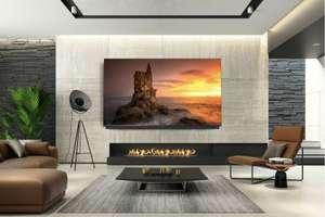 """QLED телевизор TCL 65C815, 65"""", 10 бит, 120 герц матрица, саундбар"""