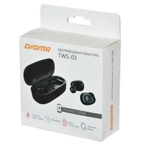 TWS наушники DIGMA TWS-03