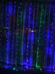 EasyMarket - Гирлянда разноцветная 3x2 метра (320 ламп)