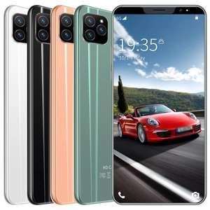 Смартфон i13 с большим экраном 5,8 дюйма, 12 МБ + 4 Гб (зеленый)