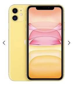 Смартфон Apple iPhone 11 64GB, желтый