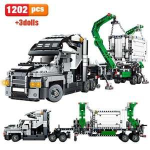 Конструктор грузовик, 1202 детали