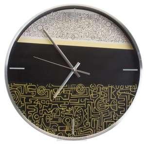 [СПб] Часы настенные Круг без цифр 9948, d30 см.