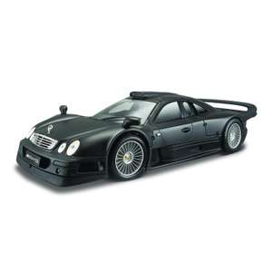 Машина MAISTO 1:18 Mercedes Benz Clk-Gtr Street Version Черный 36849