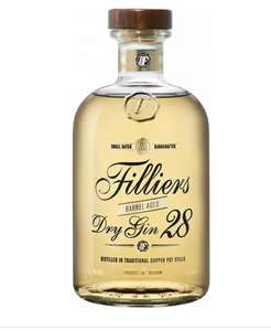 [СПБ] Джин Filliers, Dry Gin 28 Barrel Aged 0.5 л