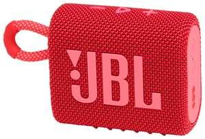 Портативная акустика JBL GO3 red