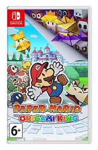 [Nintendo Switch] Скидка на некоторые эксклюзивы (напр. Paper Mario: The Origami King)