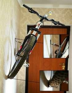 Крепёж для велосипеда на стену 770р, потолок 940р