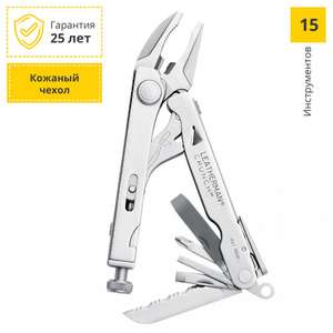 Мультитул LEATHERMAN Crunch (68010181N) (15 функций) с чехлом