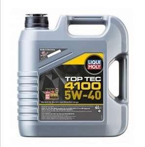 Моторное масло LIQUI MOLY Top Tec 4100 5W-40 4 л