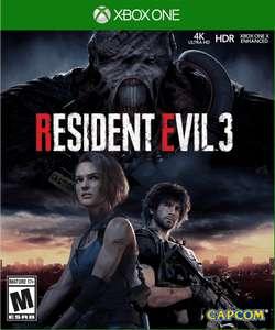 [xBox One русские субтитры] Игра Resident Evil 3