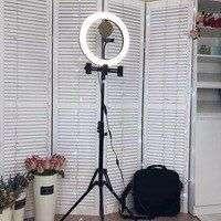 Кольцевая лампа 14 дюймов со штативом FAYFAERY