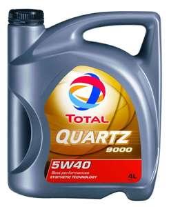 Синтетическое масло Total QUARTZ 9000 5W-40 4 л
