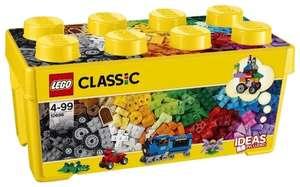 Конструктор LEGO Classic 10696 Набор для творчества среднего размера (989₽ с монетами)