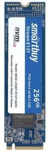 NVMe SSD накопитель Smartbuy Stream E13T 256G + 237 баллов