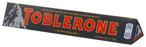 Шоколад Toblerone темный с медом и миндальной нугой, 100 г