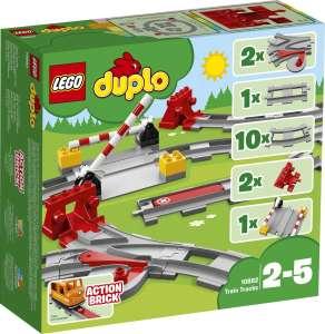 Наборы Lego по акции 1+1=3 (напр. 2шт. Lego Рельсы 108882 + Lego Железнодорожный мост)