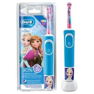 Электрическая зубная щетка Braun Oral-B Vitality Kids Frozen D100.413.2K