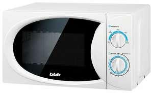 Микроволновая печь BBK 20MWS-710M/W, 20 литров, 700Вт