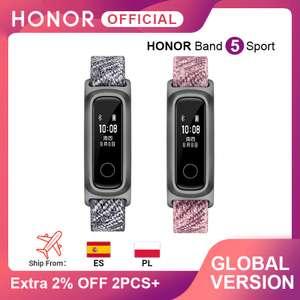 Фитнес-браслет Honor Band 5 Sport Edition розовый