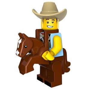 Lego ковбой за 0.99$