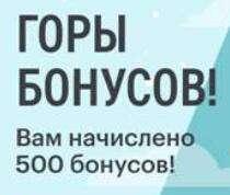500 бонусов Эльдорадо на предновогодний шопинг (не всем)