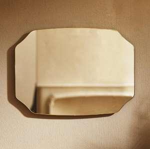Зеркало в тонкой металлической раме Zara Home