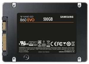 [СПб] SSD Samsung 860 EVO 500 GB (MZ-76E500BW) + 960 баллов на Яндекс плюс