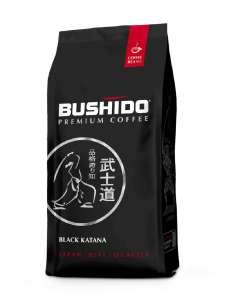 [не везде] Кофе Bushido Black Katana в зернах, арабика, 227 г