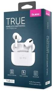 Беспроводные наушники с микрофоном OLMIO TWE-11 TWS White