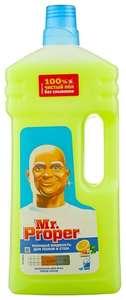 Mr. Proper Моющая жидкость для полов и стен Лимон 1.5 л