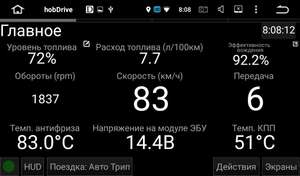 [Google Play] HobDrive ELM327 OBD2 Авто БортКомп и Диагностика