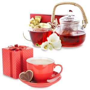 Скидка 40% на подарочные наборы (чай, кофе), косметические подарочные наборы, конфеты в коробках