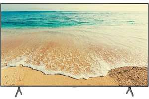 "Телевизор LED Samsung UE65TU7090 серый 65"" (163 см) 4K UltraHD Smart TV"