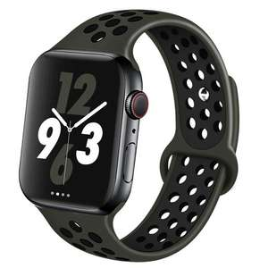 Смарт-часы Apple Watch Nike SE 44мм серый космос