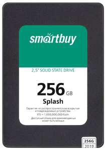 SSD накопитель SmartBuy Splash 256 GB (SBSSD-256GT-MX902-25S3)