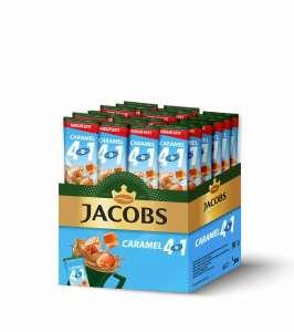 Напиток кофейный Jacobs 4 в 1 Caramel, 24 стика (цена с баллами, 6₽ шт)