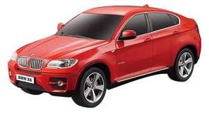 Радиоуправляемый легковой автомобиль Rastar BMW X6 (31700) 1:24 20 см красный + 696 баллов Яндекс плюс (у кого есть подписка).