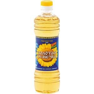 Масло подсолнечное Золотая семечка 1л (55 баллов на я+)