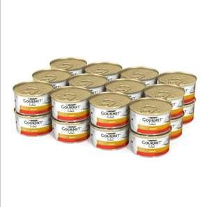 Паштет для кошек Gourmet Gold говядина 24шт×85г, (+353 балла на плюс)