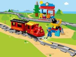 Поезд железная дорога LEGO DUPLO