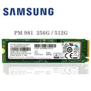 Твердотельный накопитель Samsung NVME 512 Гб