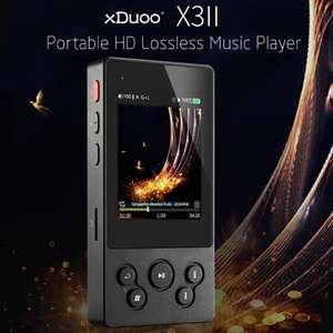 Музыкальный плеер xDuoo X3II HiFi за 95.99$