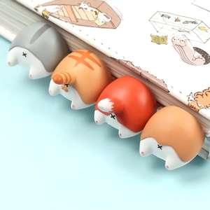 Книжные закладки с животными (4 варианта)
